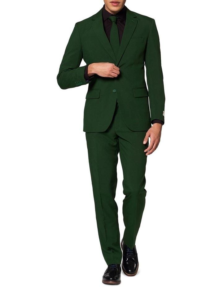 Men's Glorious Green Solid Suit image 1