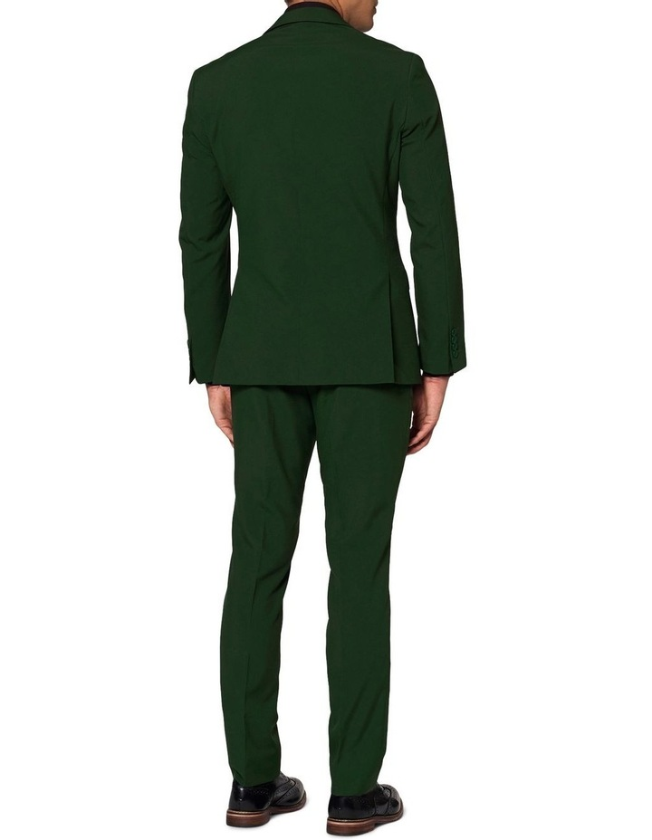 Men's Glorious Green Solid Suit image 2