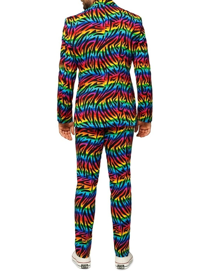 Men's Wild Rainbow Pride Suit image 2