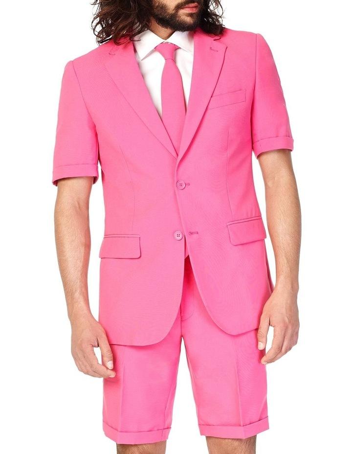 Men's Summer Mr. Pink Solid Suit image 1
