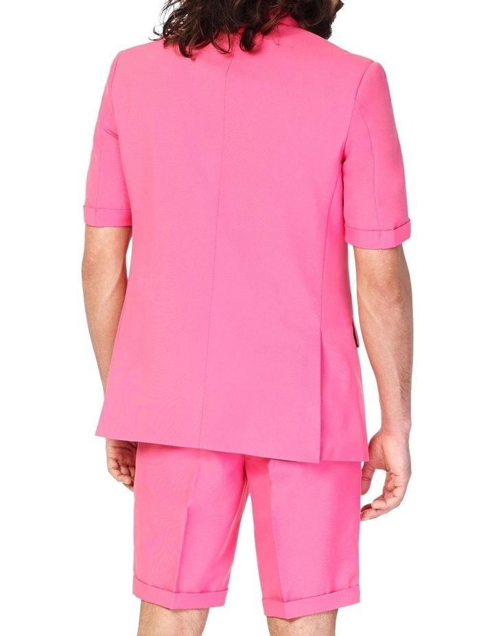 Men's Summer Mr. Pink Solid Suit image 2