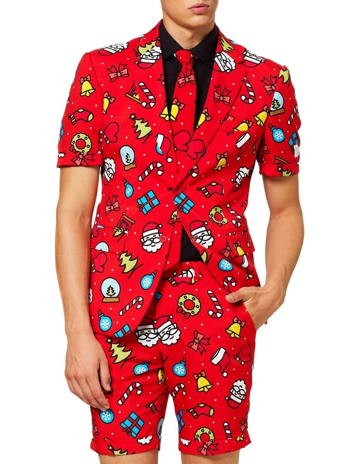 Men's Summer Dapper Decorator Christmas Suit image 1