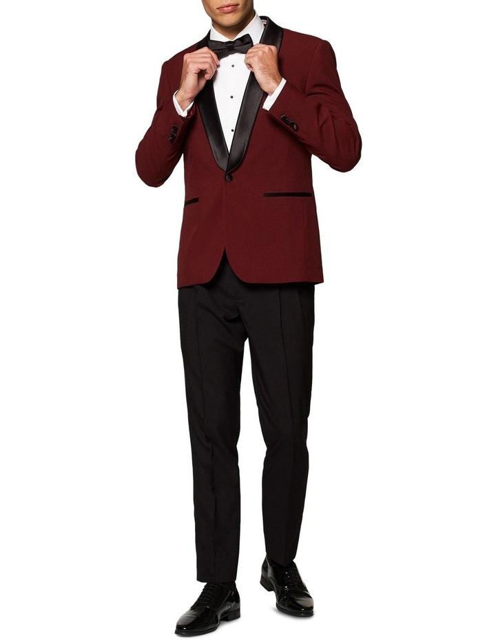 Men's Hot Burgundy Festive Tuxedo image 1