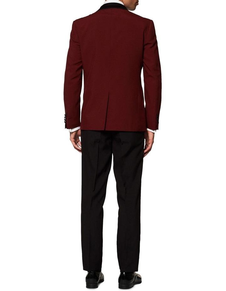 Men's Hot Burgundy Festive Tuxedo image 2