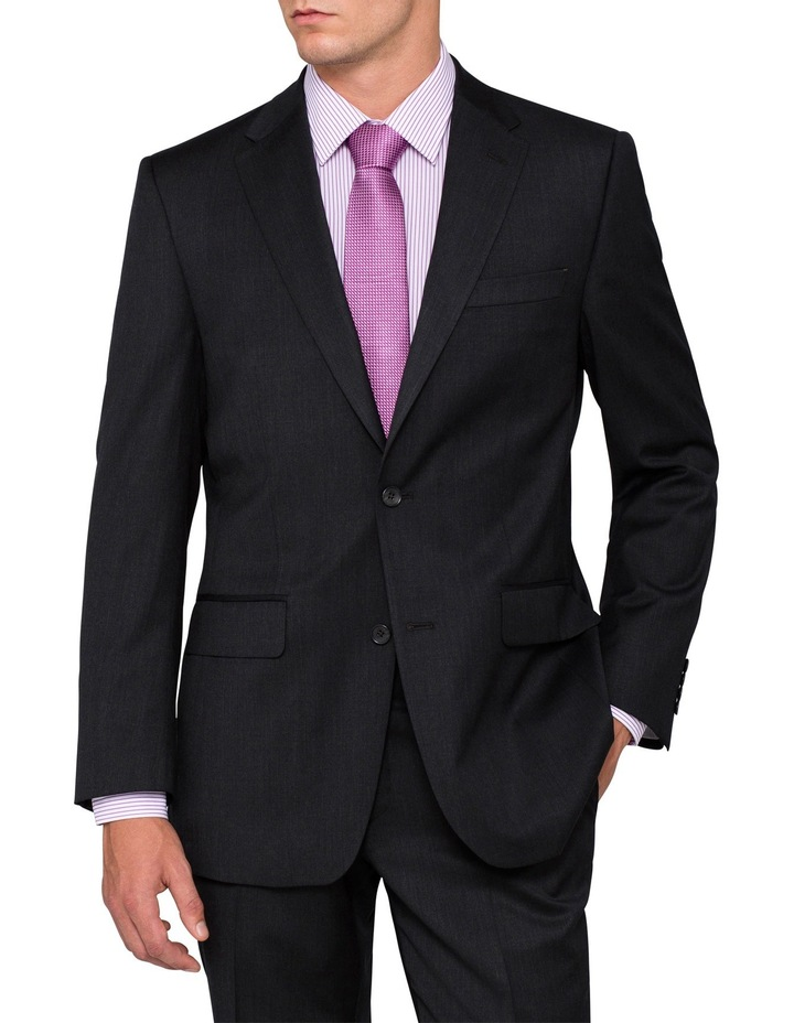 EURO Charcoal Suit Jacket image 1