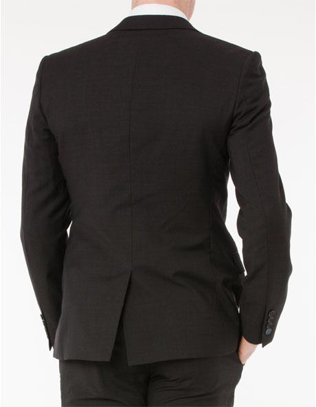 Slim Fit Charcoal Suit Jacket image 3