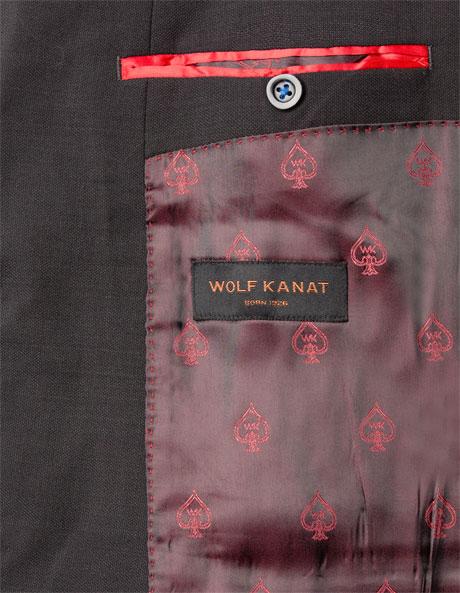 Slim Fit Charcoal Suit Jacket image 5