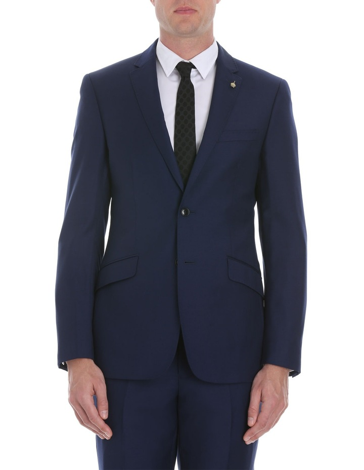 Blue Plain Suit Jacket image 1