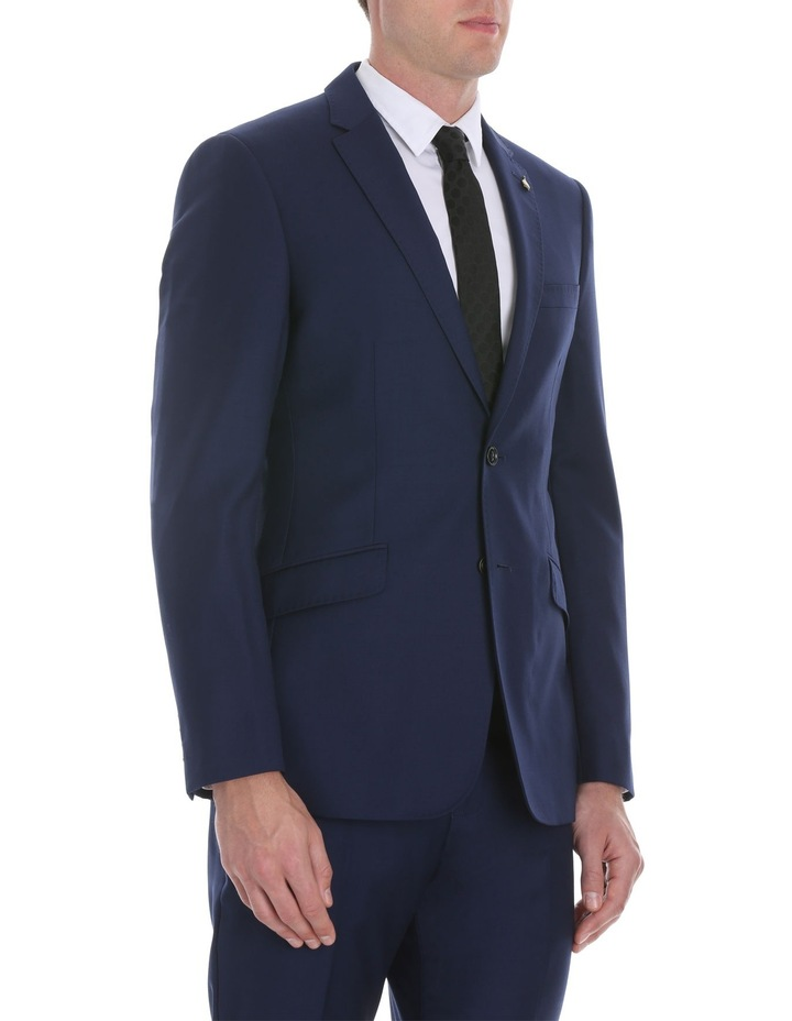 Blue Plain Suit Jacket image 2
