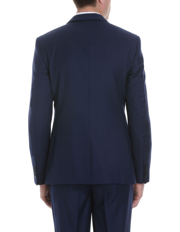 Blue Plain Suit Jacket image 3