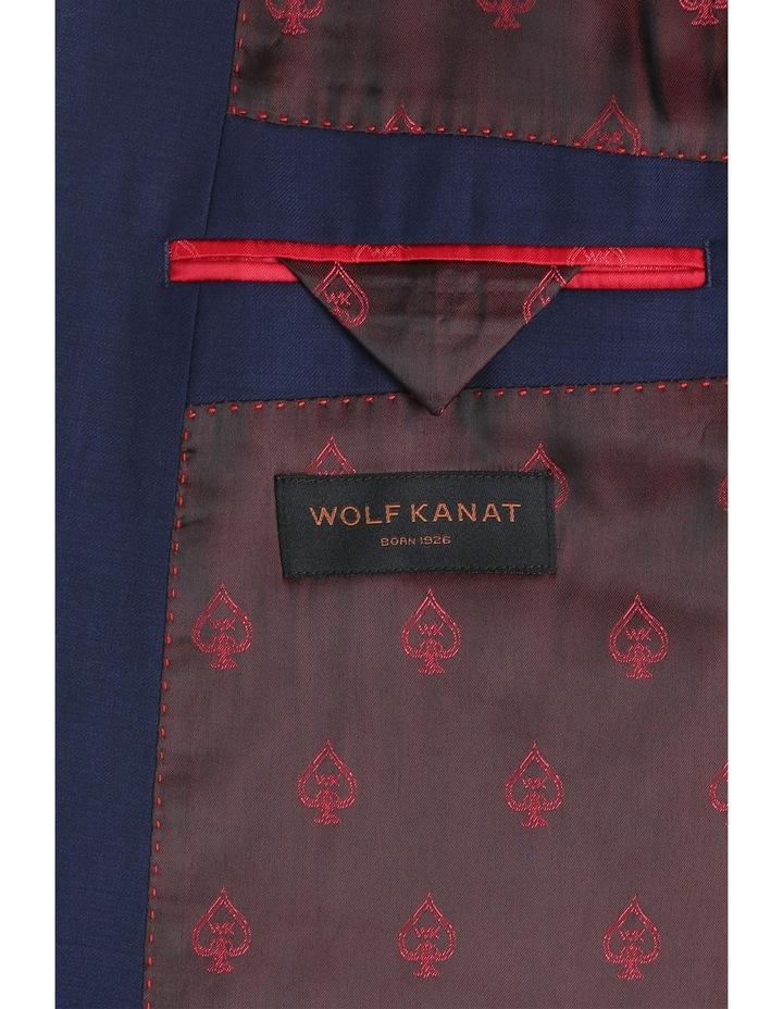Sapphire Blue Plain Suit Jacket image 4