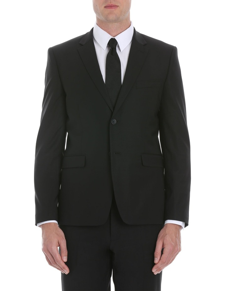 Black Plain Suit Jacket image 1