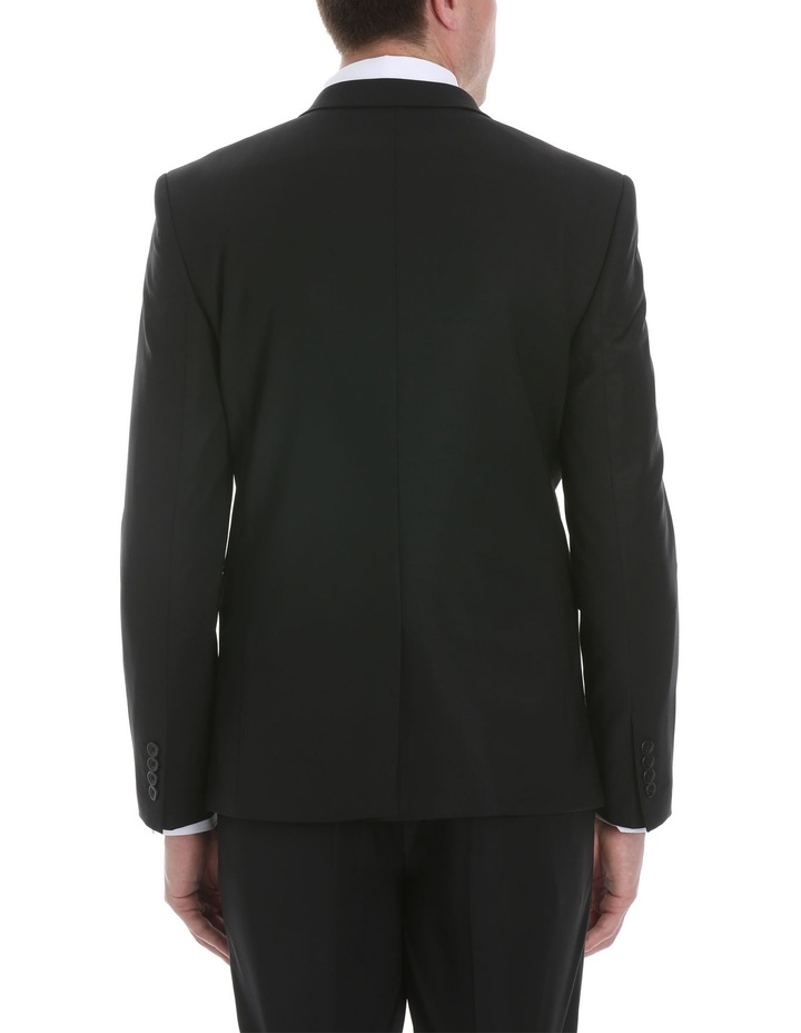 Black Plain Suit Jacket image 3