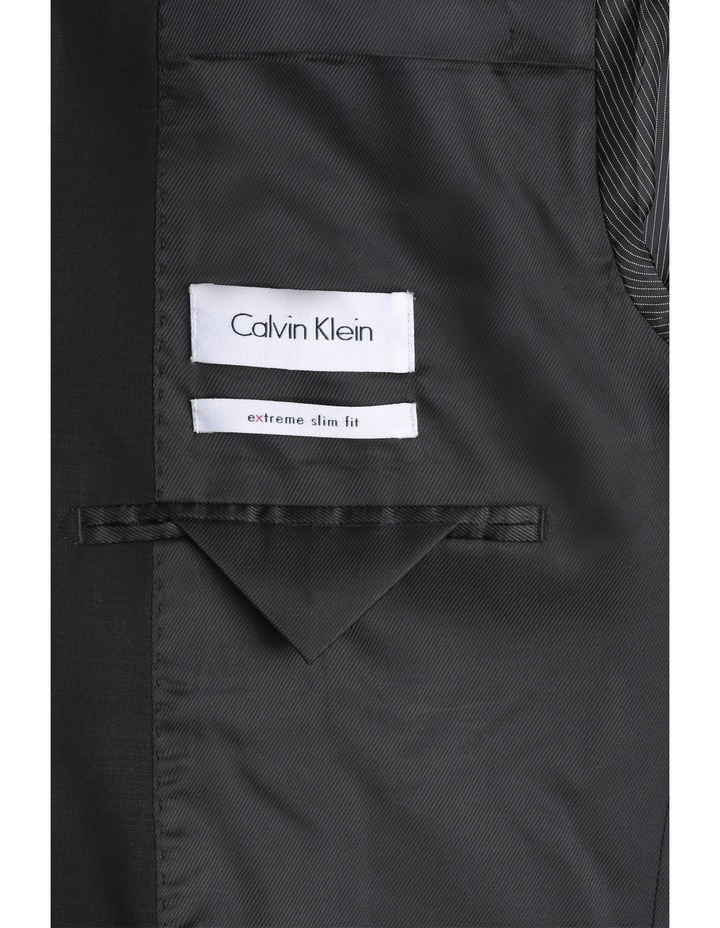 Black Plain Suit Jacket image 4