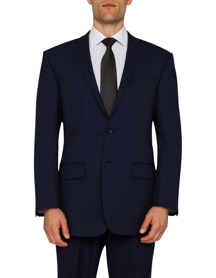 Classic Fit Ink Birdseye Suit Jacket image 1
