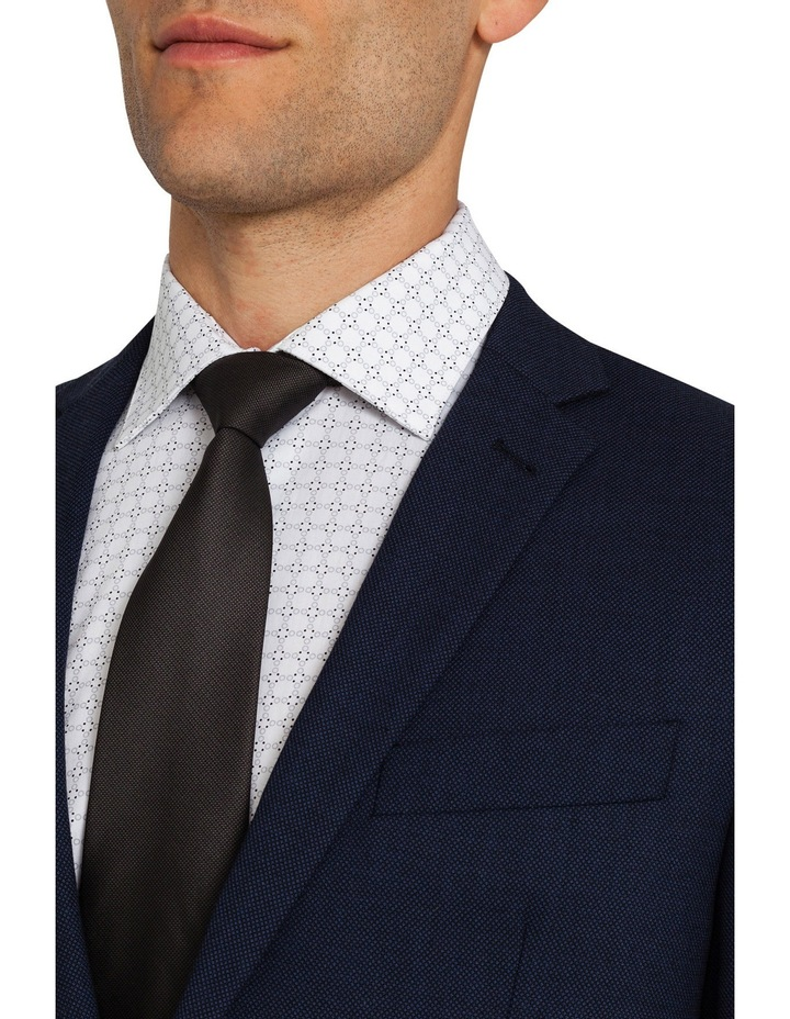 Classic Fit Ink Birdseye Suit Jacket image 3