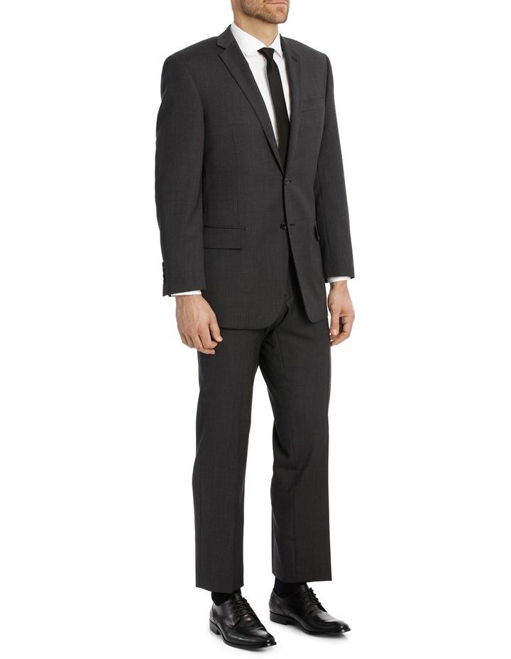 Charcoal Pindot Suit Jacket image 2
