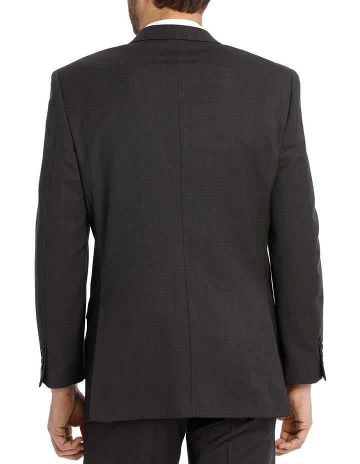 Charcoal Pindot Suit Jacket image 3