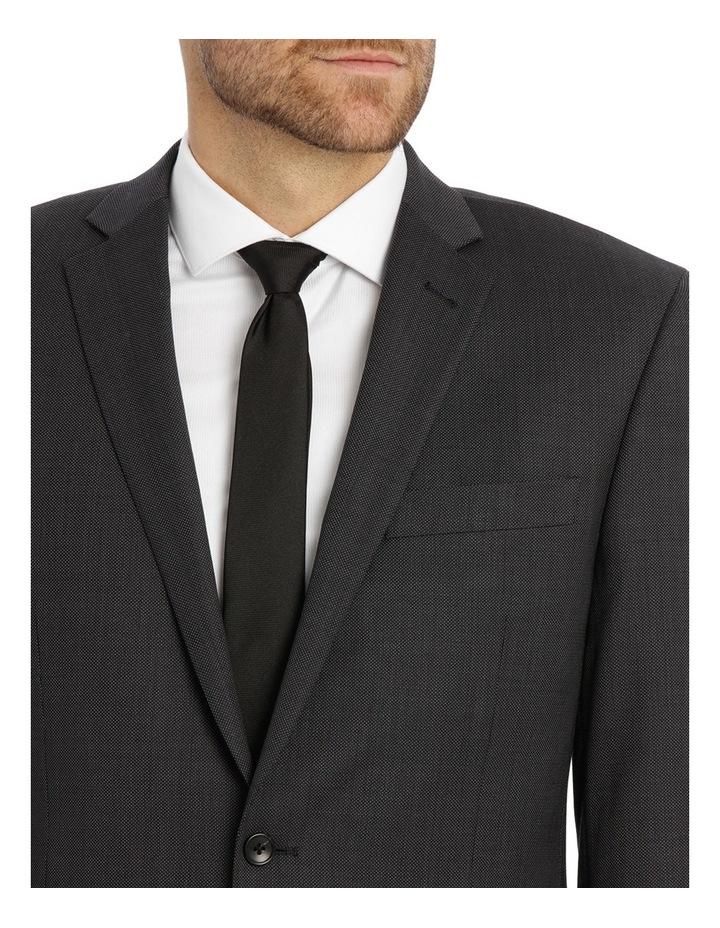 Charcoal Pindot Suit Jacket image 4