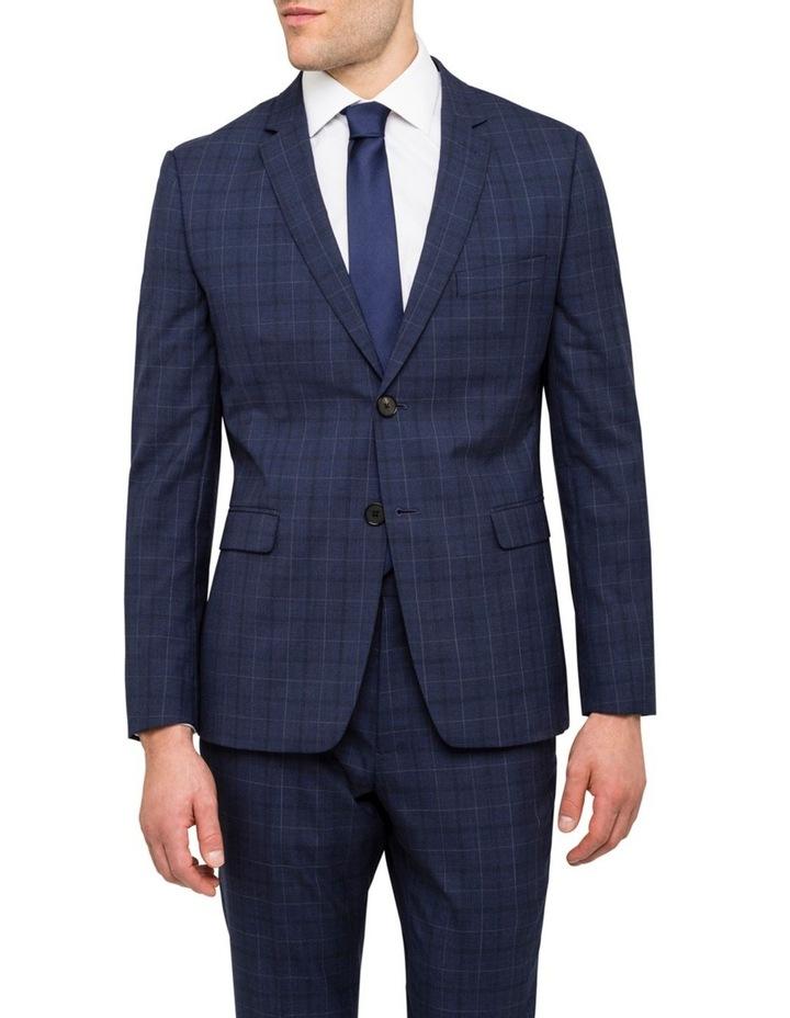 Extreme Slim Fit Suit Jacket Blue image 1