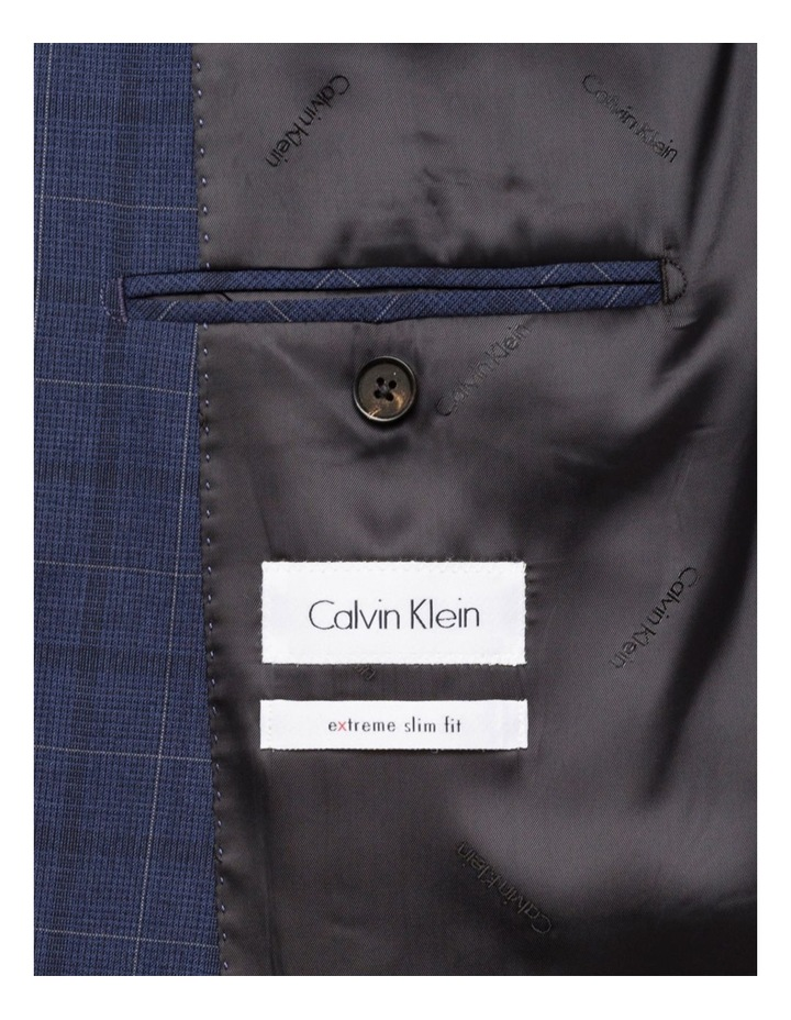 Extreme Slim Fit Suit Jacket Blue image 3