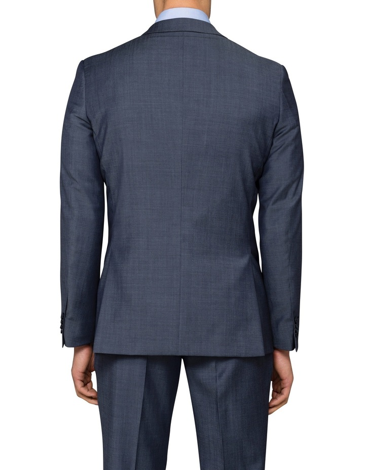 Slim Twill Steel Blue Suit Jacket image 2