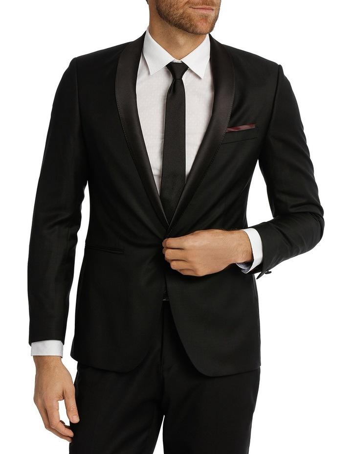 Wolf Kanat 7wk4235 Rystar Black Suit Jacket image 1