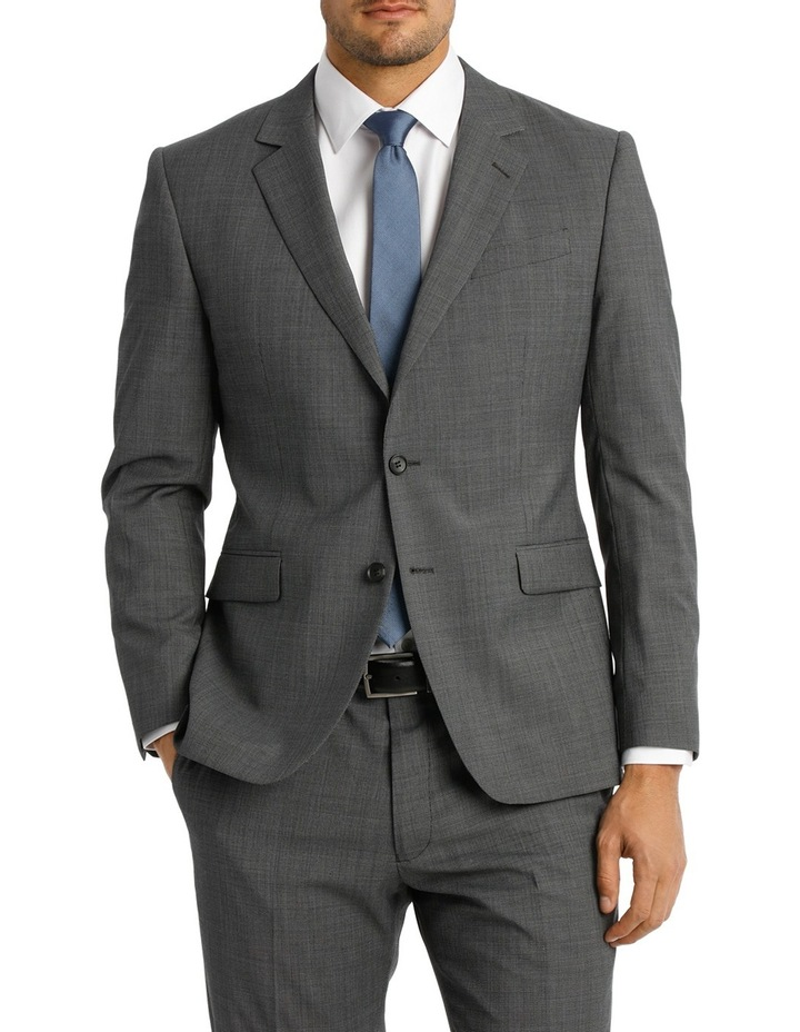 Microstucture Stretch Ivy League Suit Jacket image 1