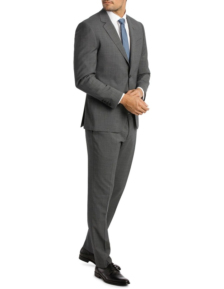 Microstucture Stretch Ivy League Suit Jacket image 2