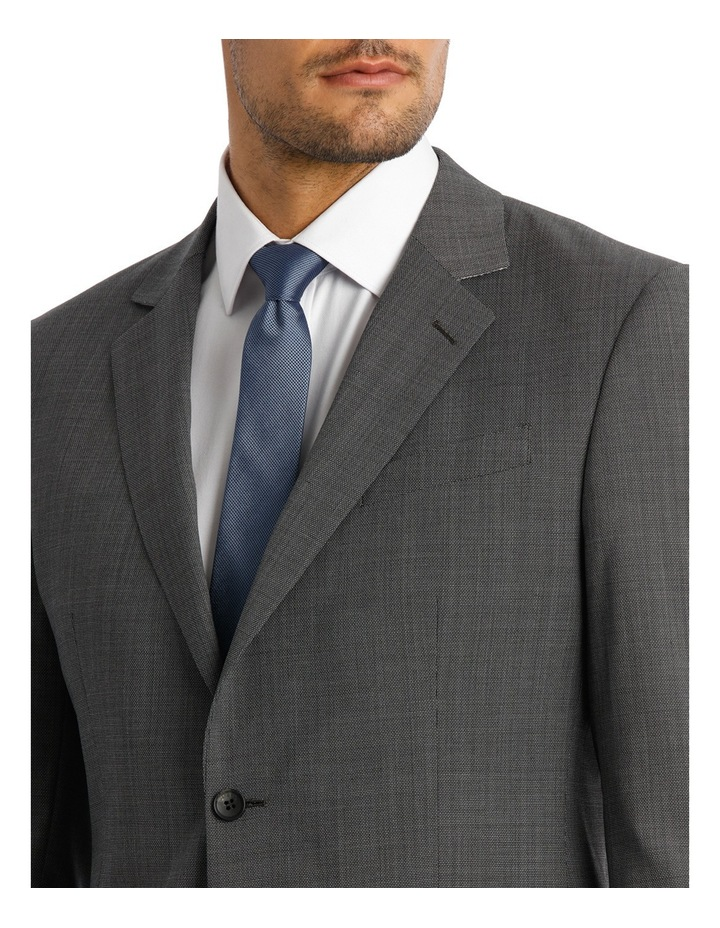 Microstucture Stretch Ivy League Suit Jacket image 4