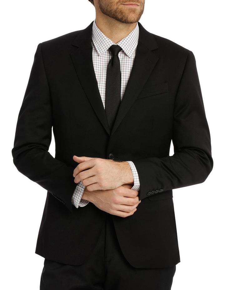 Textured Plain Performance Stretch Suit Jacket image 1