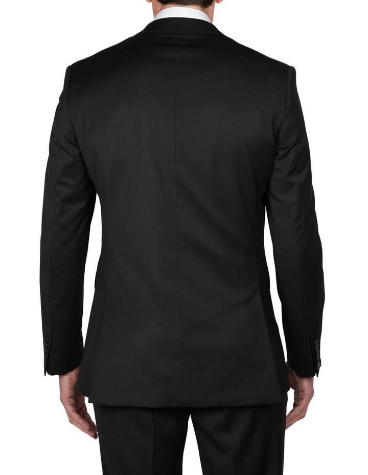 Textured Plain Performance Stretch Suit Jacket image 3