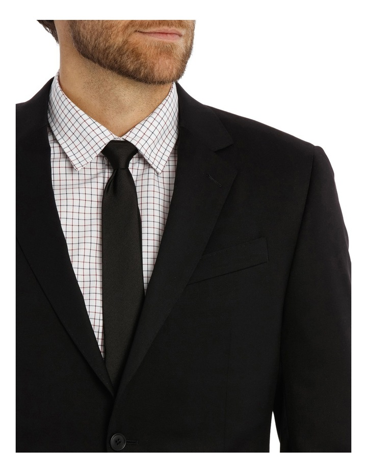 Textured Plain Performance Stretch Suit Jacket image 4