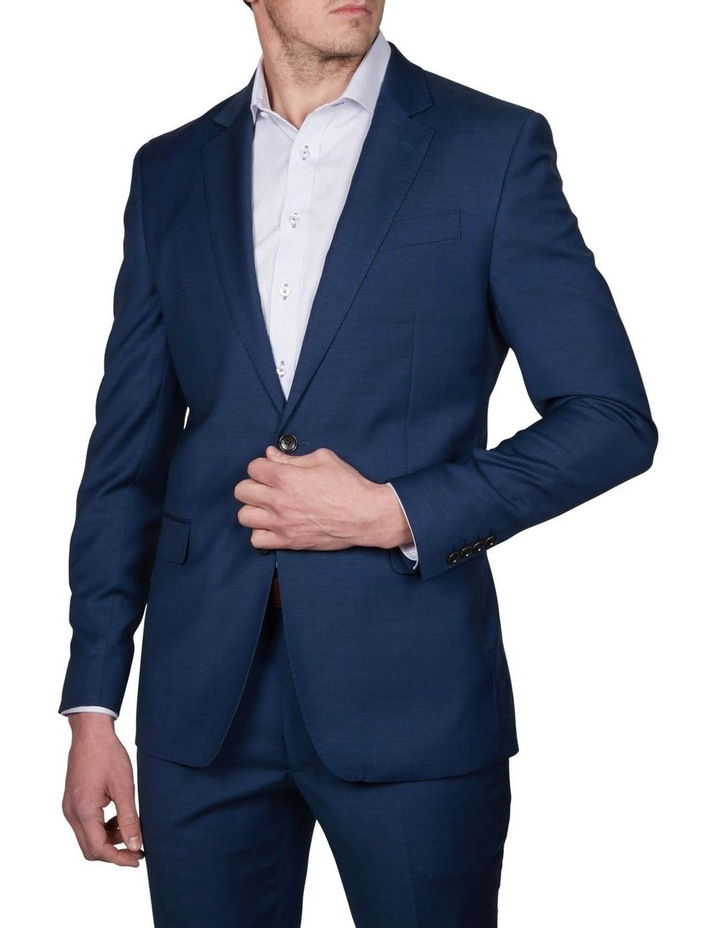 Two Tone Pinpoint Performance Stretch Suit Jacket image 1