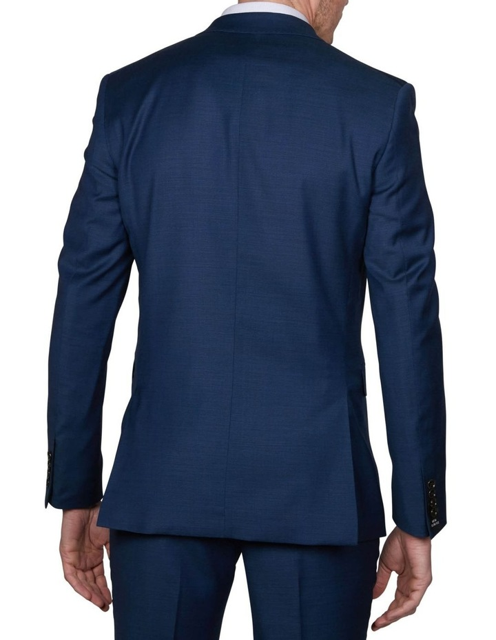 Two Tone Pinpoint Performance Stretch Suit Jacket image 2