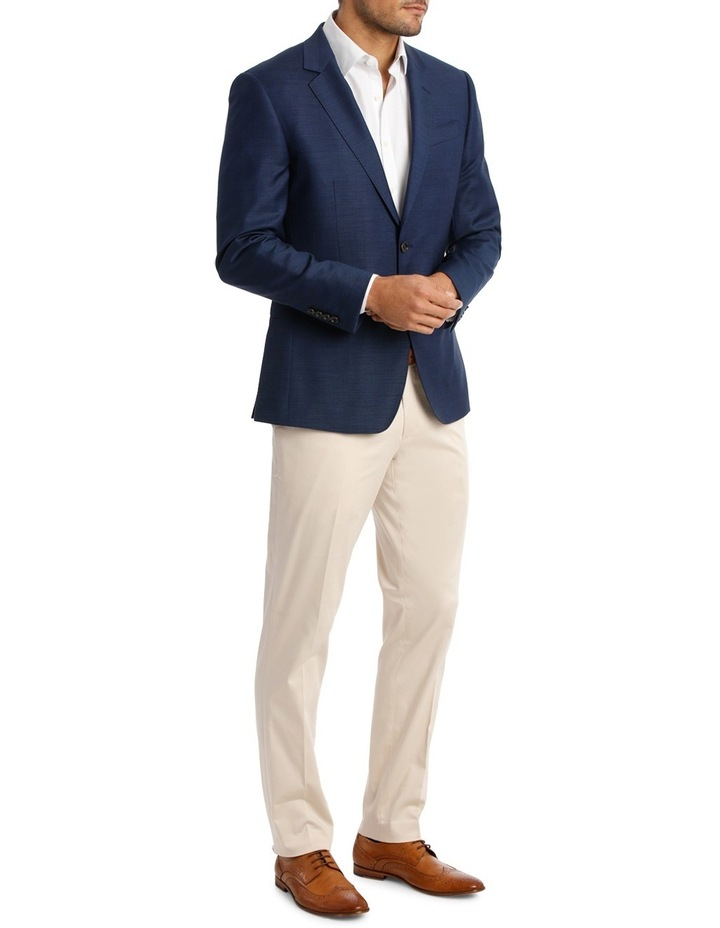 Two Tone Pinpoint Performance Stretch Suit Jacket K386021 image 2