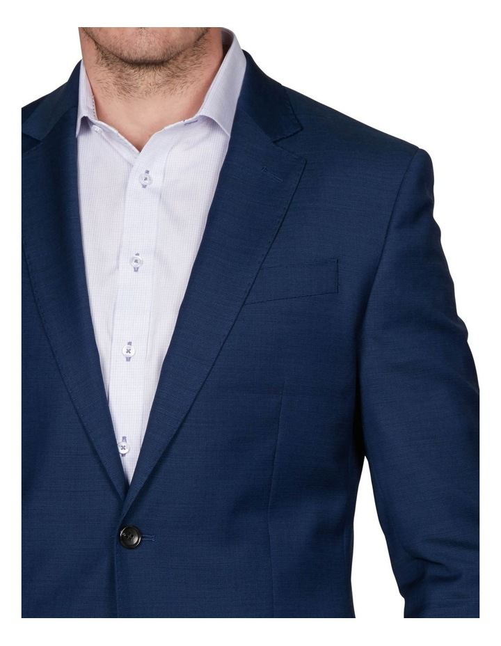 Two Tone Pinpoint Performance Stretch Suit Jacket image 3