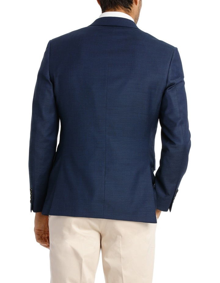 Two Tone Pinpoint Performance Stretch Suit Jacket K386021 image 3