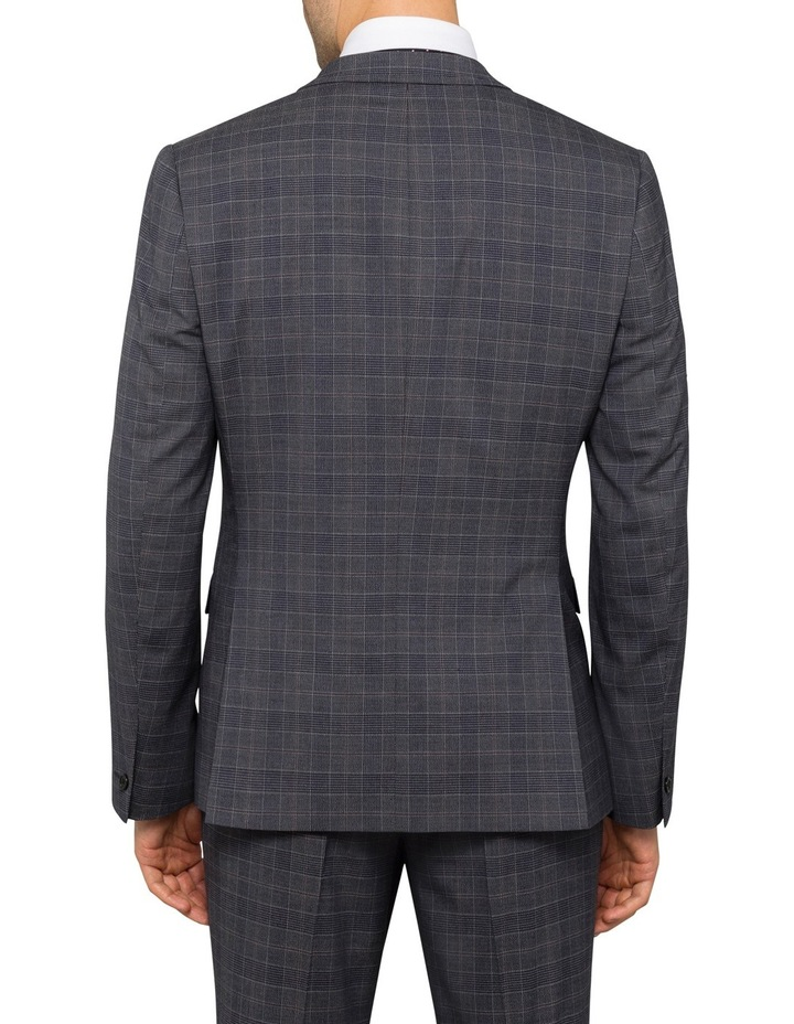 Charcoal Check Suit Jacket PCJSM010Z_CCCG image 2