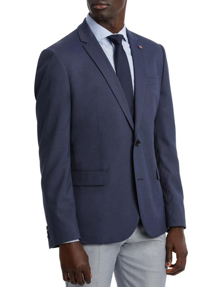 Blue Plain Suit Jacket image 2
