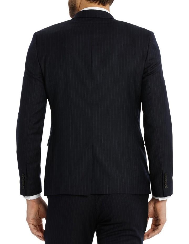 Navy Pinstripe Suit Jacket CJXM660Z_VNVB image 3