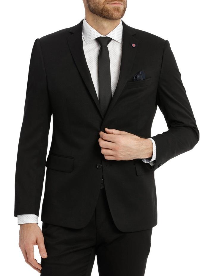 Solid Black Suit Jacket image 1