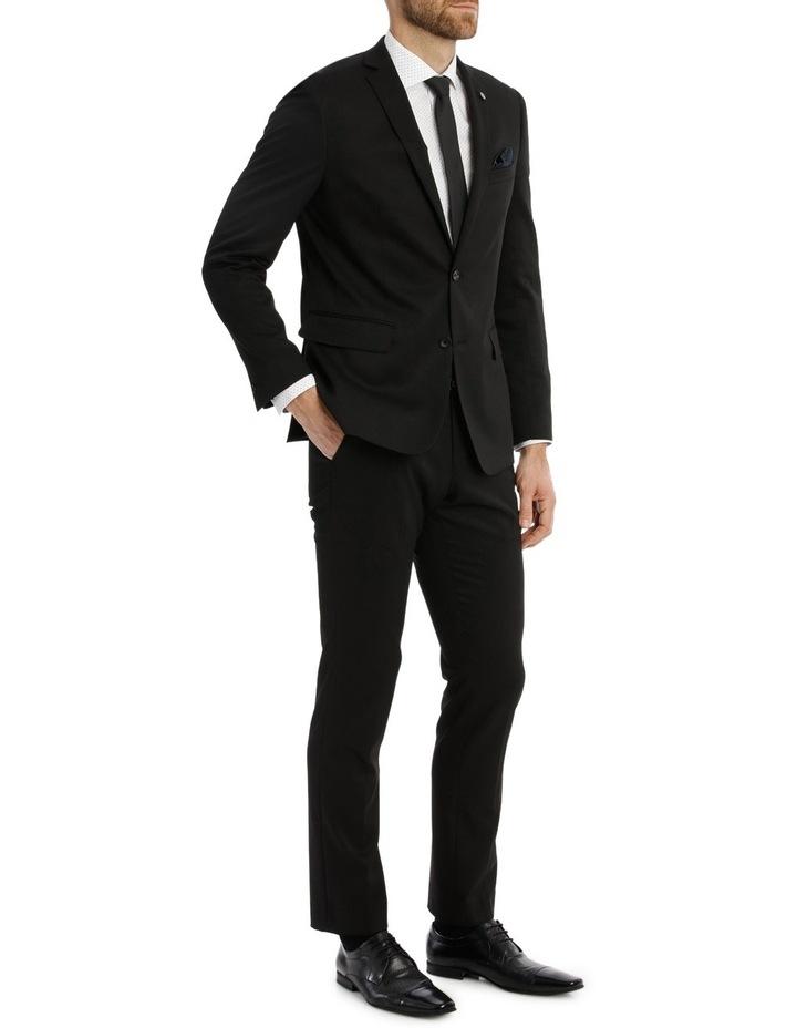 Solid Black Suit Jacket image 2