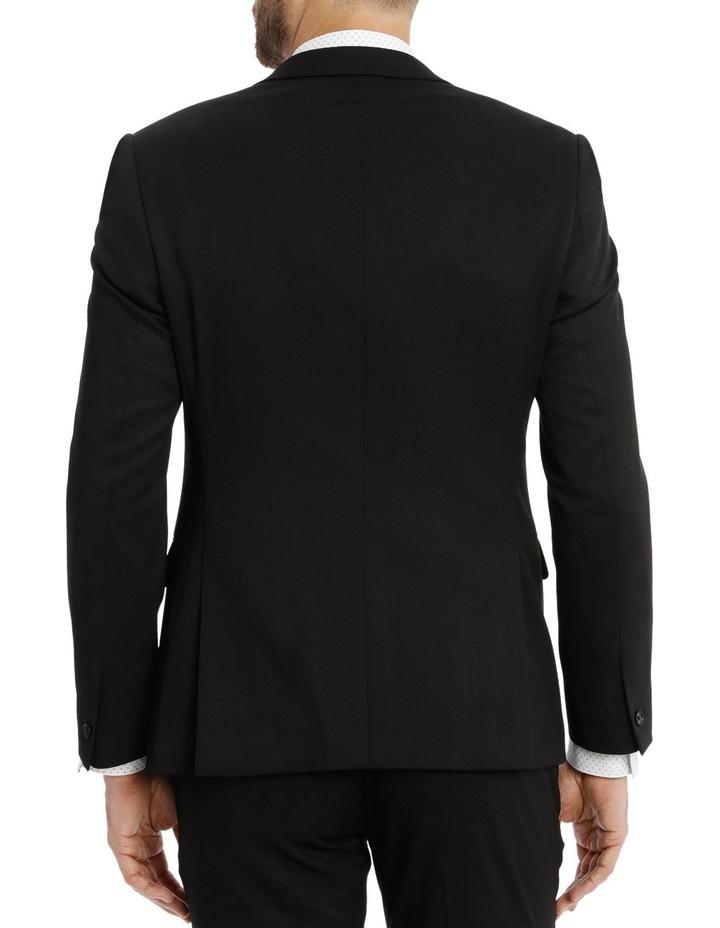 Solid Black Suit Jacket image 3