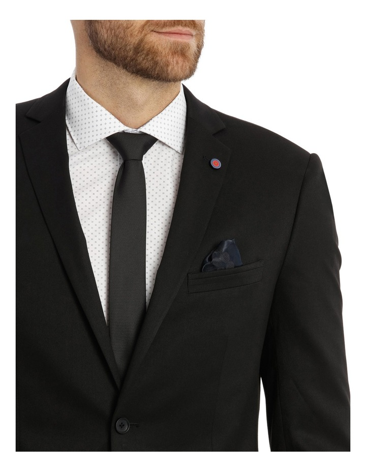 Solid Black Suit Jacket image 4