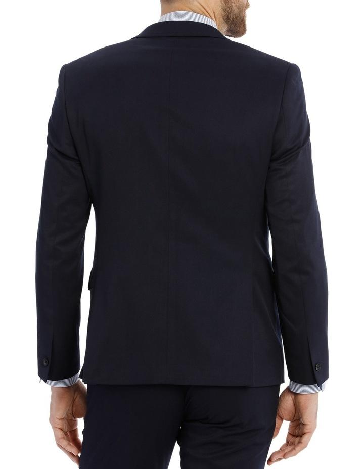 Pierre Cardin APCJM124_BIKB Solid Navy Suit Jacket image 3