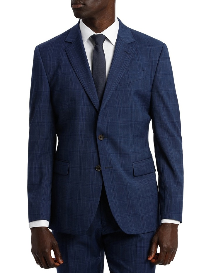 Check Stretch Suit Jacket image 1
