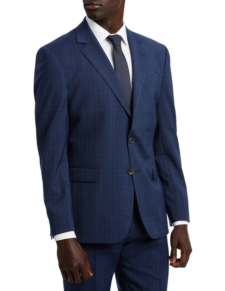 Check Stretch Suit Jacket image 2