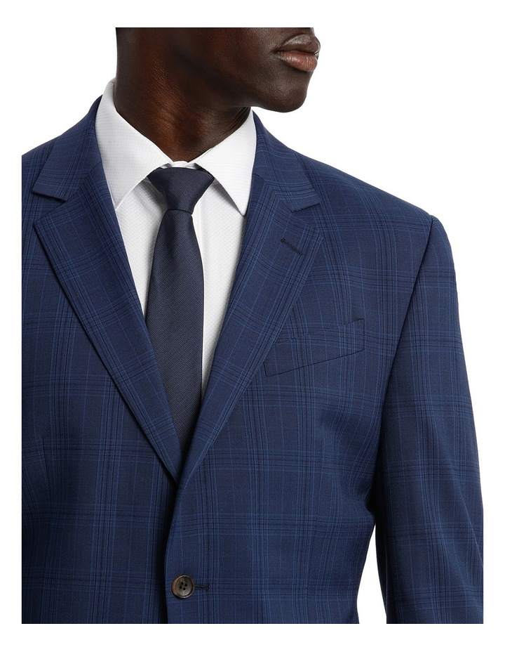 Check Stretch Suit Jacket image 4