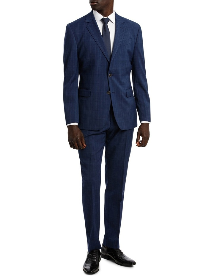 Check Stretch Suit Jacket image 5